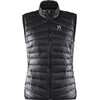 Haglöfs W's Essens III Down Vest True Black/Magnetite